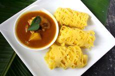 Resep Roti Jala Kari Ayam, Masak Tanpa Santan