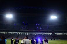 Menghibur, Atraksi Pencahayaan Sekelas Amsterdam Arena di Balikpapan