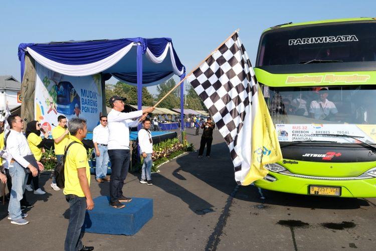 Menyambut Hari Raya Idul Fitri tahun 2019 ini, PGN memberangkatkan 4.000 peserta mudik gratis ke 10 rute di Jawa Barat, Jawa Tengah, dan Yogyakarta, serta satu rute baru menuju Lampung.