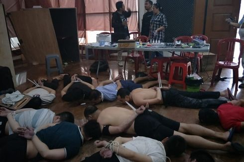 Polisi Tangkap 66 WN China di 6 Lokasi Terkait Penipuan