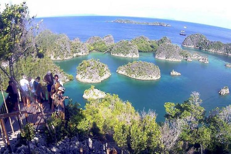Kawasan perairan di Pianemo yang memiliki pemandangan mirip Wayag - sama-sama berada di Raja Ampat Papua Barat - dideklarasikan masyarakat setempat menjadi perairan perlindungan laut Kepulauan Fam. Perairan ini memiliki luas 350.000 ha serta menjadi habitat bagi berbagai jenis ikan dan karang.