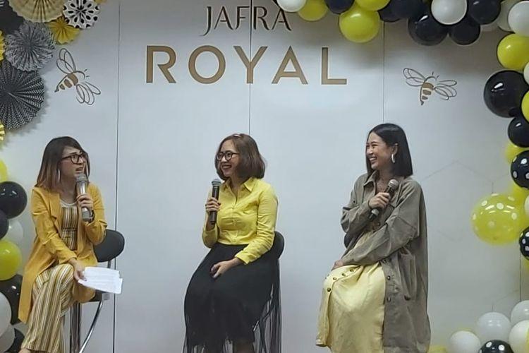 Talkshow manfaat dan keunggulan produk Jafra Royal Ultra Boost di Jakarta (23/8/2019).