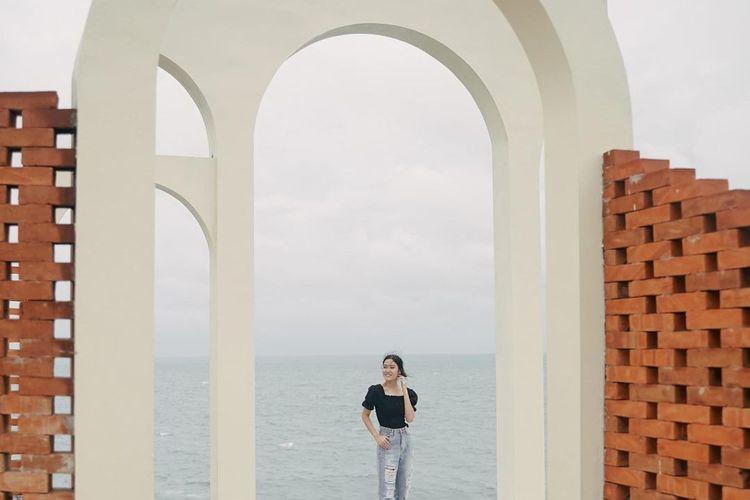 Salah satu spot foto di HeHa Ocean View
