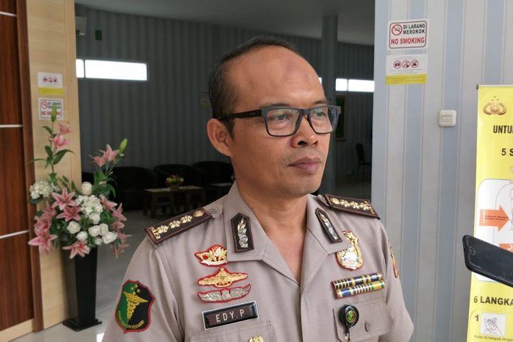 Kepala Instalasi Forensik Rumah Sakit Polri Kramat Jati Kombes Edy Purnomo di RS Polri Kramat Jati, Jakarta Timur, kepada awak media, Rabu (27/11/2019).