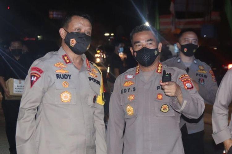 Kapolda Banten Irjen Pol Rudy Heriyanto Adi Nugroho