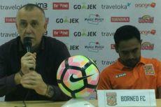 Pelatih Borneo FC Bicara soal Kekalahan Telak dari Bali United