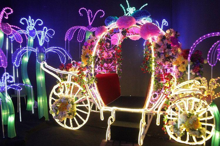 Salah satu ruangan yang berisi kereta kencana di Fantasy Park, Summarecon Mall Bekasi.