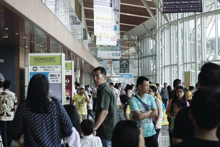 Homedec kembali digelar untuk kali kelima di JCC Senayan Jakarta dan Tangerang mulai 11-14 Juli 2019.