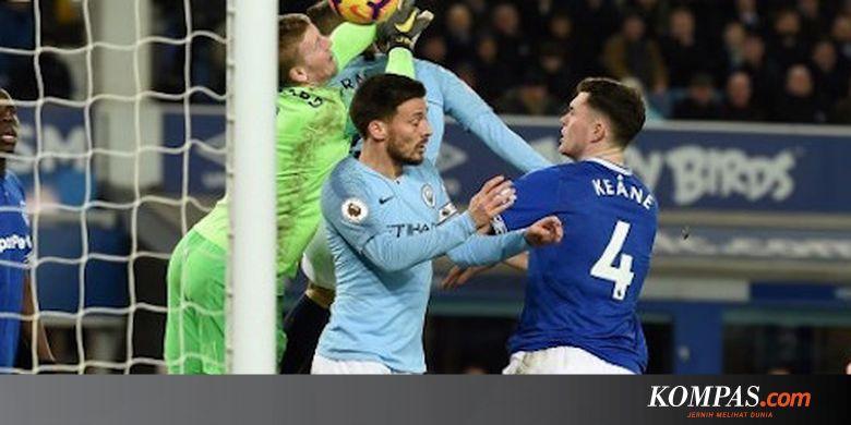 Prediksi Susunan Pemain Man City Vs Everton