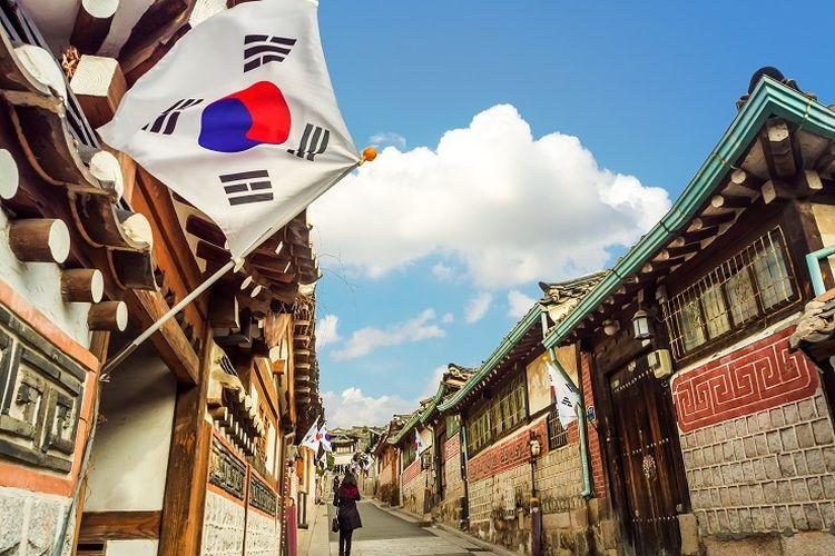 Ilustrasi Korea Selatan.