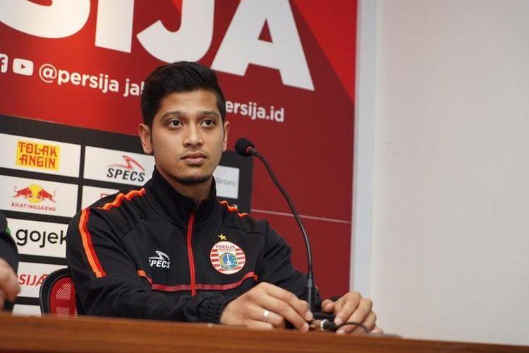 Pemain baru Persija Jakarta, Farri Agri.