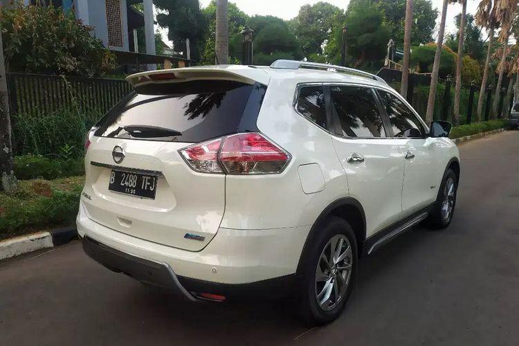 Nissan X-Trail Hybrid jadi salah satu kendaraan elektrifikasi yang mengisi pasar mobil bekas meski unitnya terbilang langka.