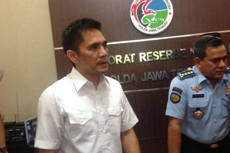 Direktur Reserse Narkotika Polda Jateng Kombes Krisno H Siregar