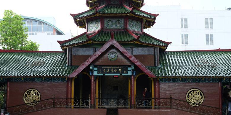 Parah! Unik, 5 Masjid dengan Arsitektur Tionghoa di Indonesia