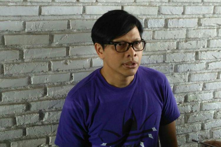 Penyanyi Armand Maulana saat ditemui di kawasan Cilandak, Jakarta Selatan, Senin (6/2/2019).