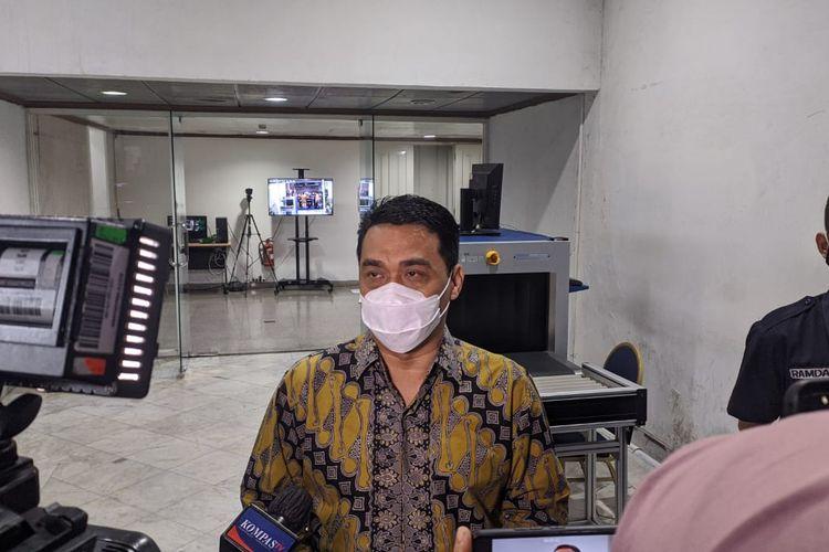 Wakil Gubernur DKI Jakarta Ahmad Riza Patria saat ditemui di Balai Kota DKI Jakarta, Selasa (20/4/2021)