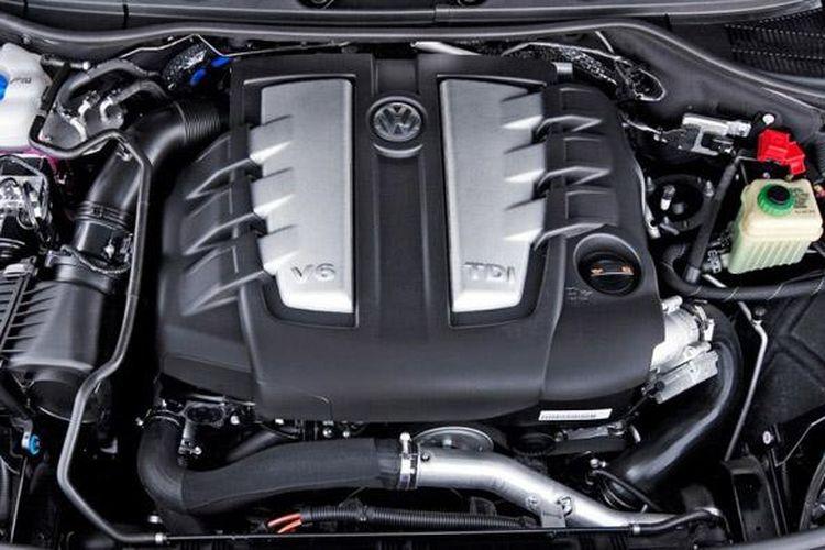 Mesin diesel V6 3.0L TDI.