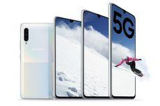 Samsung Galaxy A90 5G Resmi dengan Snapdragon 855 dan Modem X50