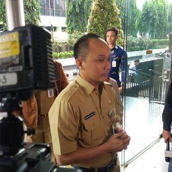 Direktur Jenderal Kependudukan dan Pencatatan Sipil (Dukcapil) Kementerian Dalam Negeri (Kemendagri) Zudan Arif Fakrulloh mendatangi kantor Bareskrim, Gambir, Jakarta Pusat, Senin (10/12/2018).
