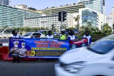 Ratusan Kendaraan Melanggar pada Hari Pertama Ganjil Genap, Polisi Belum Beri Sanksi Tilang