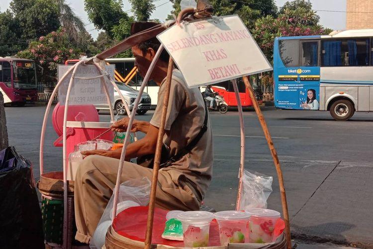 Jaip, pedangang es selendang mayang yang bisa kamu temui di kawasan Kota Tua