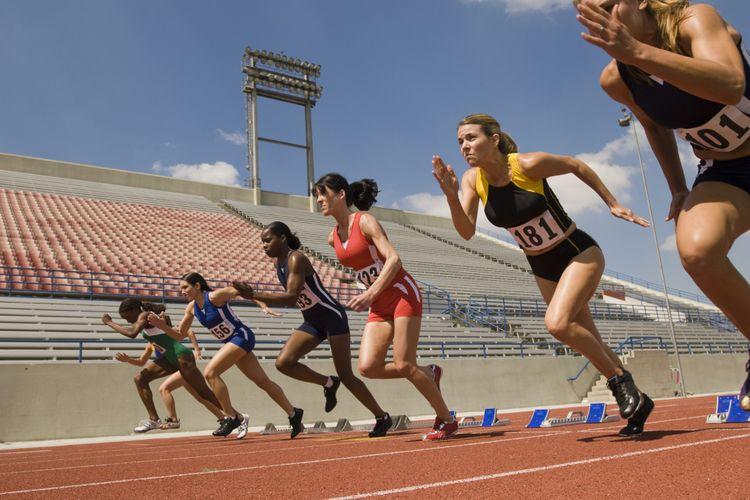 Ilustrasi olahraga lari