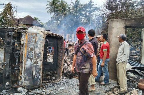 Duka Yudi, Istri dan Anaknya Tewas Terpanggang Saat Truk yang Ia Kendarai Kecelakaan, 7 Rumah Ikut Terbakar
