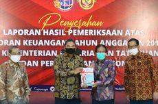 Kementerian ATR/BPN Raih Opini WTP 7 Tahun Berturut-turut