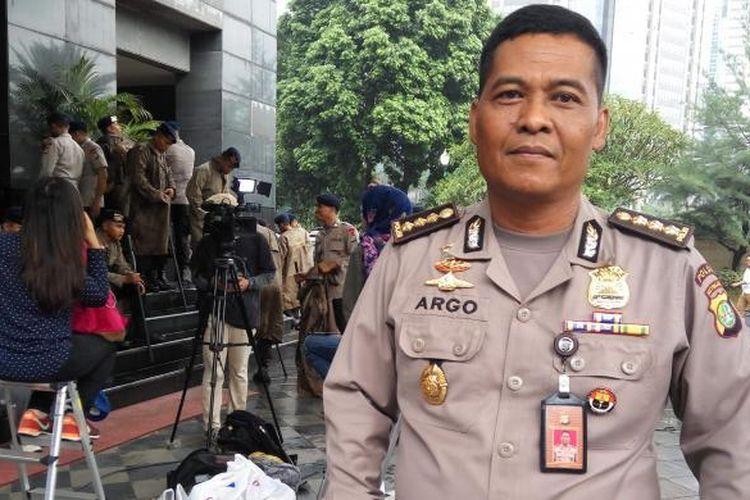 Kabid Humas Polda Metro Jaya Kombes Argo Yuwono di Mapolda Metro Jaya, Rabu (1/2/2017).