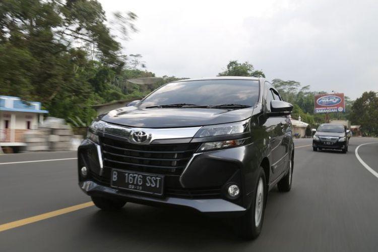 New Toyota Avanza saat sesi test drive di Magelang, Jawa Tengah