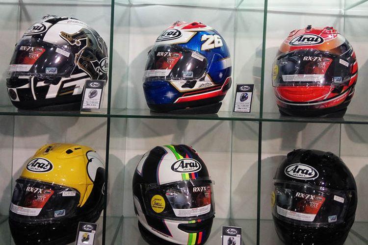 Ragam helm premium di Jakarta Fair 2017