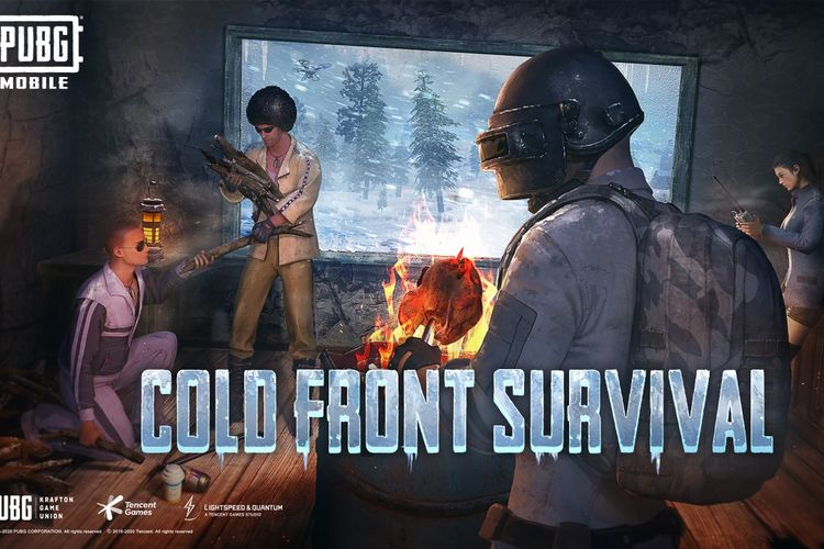 Mode teranyar PUBG yakni The Arctic Mode - Cold Front Survival.