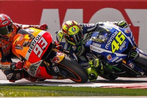 Marc Marquez: Valentino Rossi Ahlinya Perang Urat Syaraf