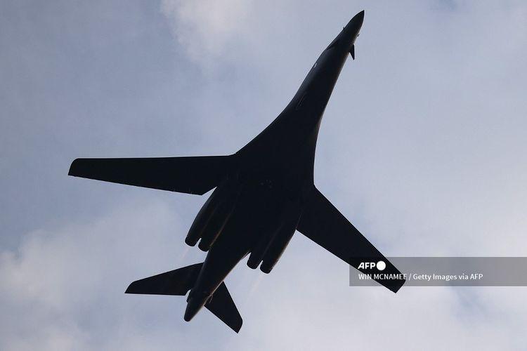 Angkatan Udara Amerika Serikat (AS) untuk pertama kalinya mengerahkan pesawat B-1 bomber ke Norwegia.