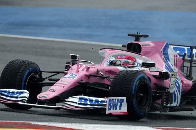 Pebalap F1 dari tim Racing Point, Sergio Perez.