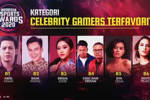 Ariel NOAH dan 5 Selebritas Lain Masuk Nominasi Indonesian Esports Awards 2020