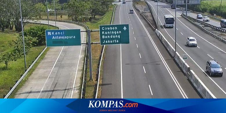 Viral Video Gerbang Tol Pejagan Ditutup Ini Faktanya Halaman All Kompas Com