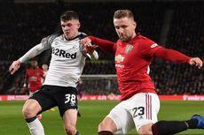 Derby County Vs Man United, Shaw Tak Terima jika Golnya Diklaim Lingard