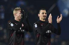 AC Milan Vs Genoa, Simon Kjaer Merasa Aneh Bertanding Tanpa Penonton