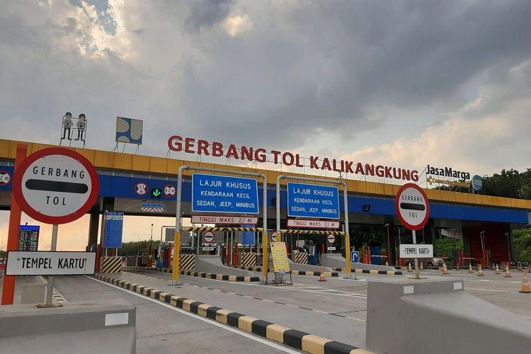 Gerbang Tol Kalikangkung Semarang, Jateng