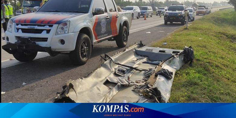 Kronologi Kecelakaan Maut di Tol Cipali