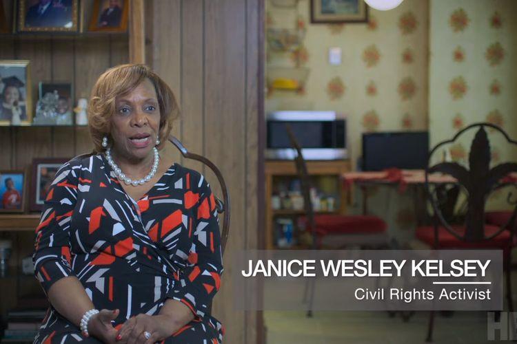 Janice Wesley Kesley dalam film dokumenter The Soul of America (2020).