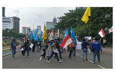 Pukul 16.30 WIB, Massa Buruh Mulai Bubarkan Diri dari Kawasan Patung Kuda