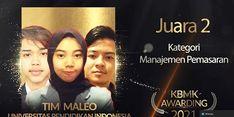 Dua Tim Mahasiswa UPI Raih Juara 2 Nasional KMBK 2021