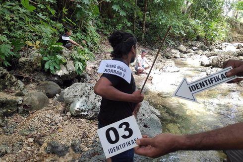 Prarekonstruksi Kasus Penyerangan 3 Warga di Hutan Halmahera Tengah Digelar, 11 Adegan Diperagakan