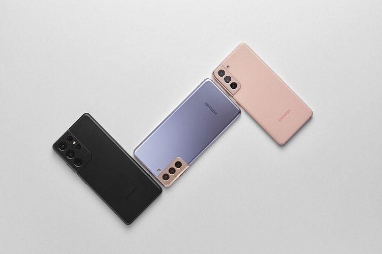 Samsung meluncurkan smartphone flagship seri Galaxy S21 5G, Galaxy S21+ 5G, dan Galaxy S21 Ultra 5G