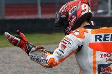 Sesi Latihan Bebas MotoGP Thailand, Marquez Sempat Terjatuh