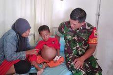 Bocah 4 Tahun di Kampar Riau Idap Tumor Ganas di Perut, Kondisinya Memprihatinkan