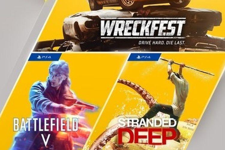 Tiga game gratis untuk pelanggan PlayStation Plus Mei 2021