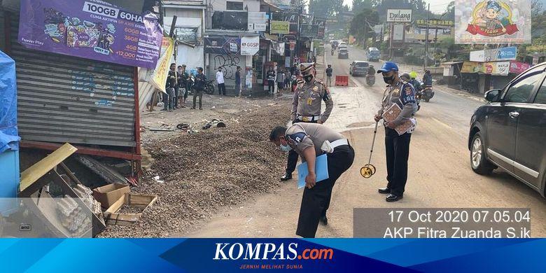 Berawal dari Rem Blong, Kecelakaan Beruntun di Puncak Bogor Tak Terhindarkan, 5 Orang Tewas